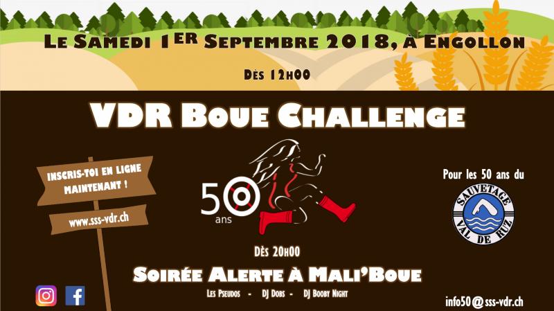 VDR Boue Challenge - Alerte à Mali'boue