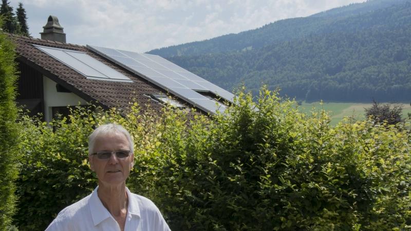 Le photovoltaïque  de La Goule peine à décoller