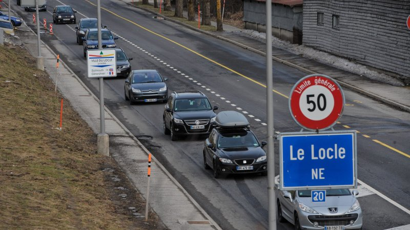Nombre record de frontaliers atteint dans le canton de Neuchâtel