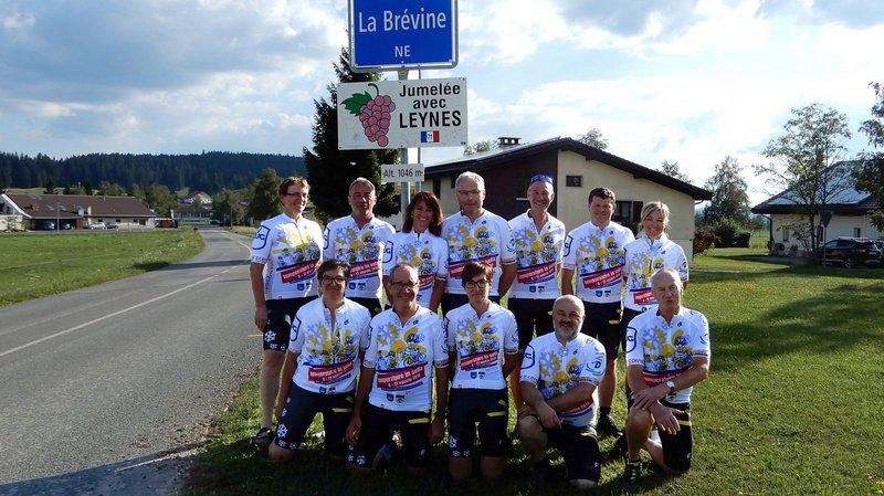 La Brévine - Grono, une virée à vélo pour célébrer le froid et le chaud