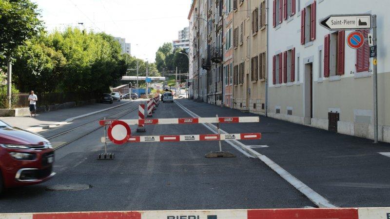 Cet été sonne la fin du gros chantier chaux-de-fonnier des rues du Crêt et du Manège