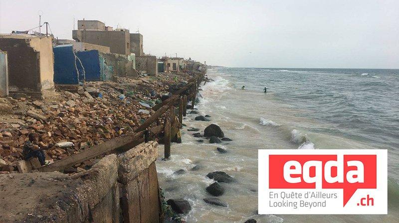ArcInfo en reportage sur les côtes du Sénégal