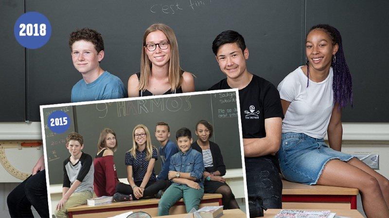 """Quatre élèves en 11e Harmos """"cobayes"""" de la réforme scolaire"""