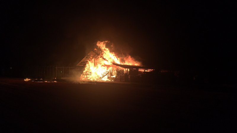 Il y a eu 170 cas de sinistres dus au feu.