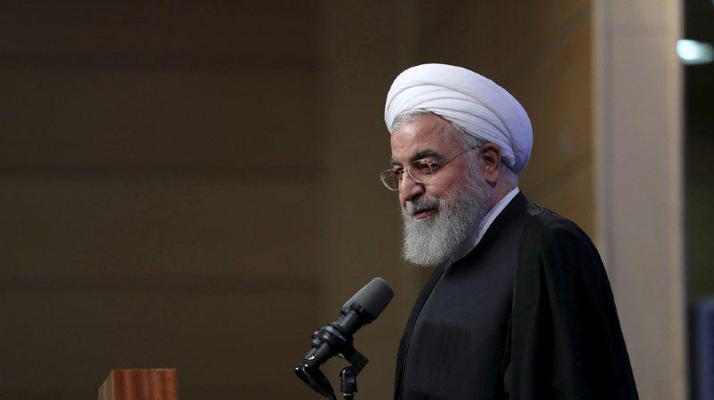 Visite d'Hassan Rohani: le président iranien a atterri en Suisse pour un marathon diplomatique