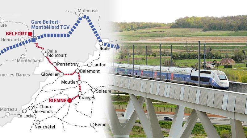 Jura: la liaison TGV sur Paris avance à très grande vitesse