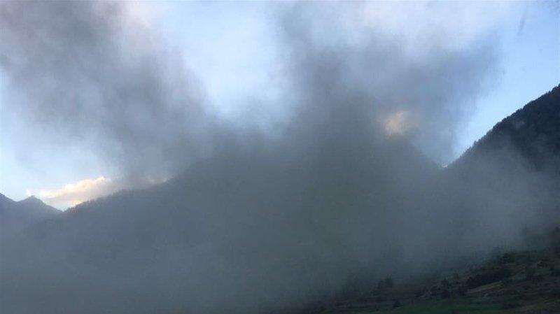 Grisons: un gros éboulement se déclenche sur le Linard Pitschen, un refuge évacué
