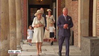 People: le prince Louis a été baptisé