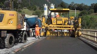 Une nouvelle technologie pour la construction de routes suisses plus rapide et économique