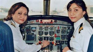 Trafic aérien: il n'y a que 3% de femmes chez les pilotes de ligne