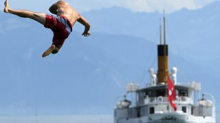 Lac Léman: la CGN appelle les nageurs et la paddlers à plus de prudence près des débarcadères