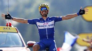 Cyclisme - Tour de France: le Français Julian Alaphilippe remporte en solitaire la 10e étape