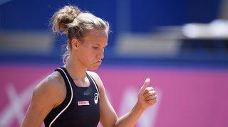Tennis - Gstaad: Viktorija Golubic éliminée en huitième de finale