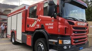 Un camion flambant neuf pour combattre le feu