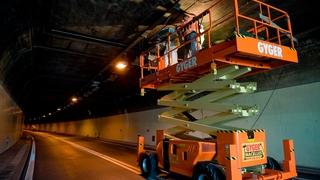 Fermeture des tunnels sous La Vue-des-Alpes