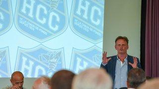 Le HCC rate complètement son début de saison: les explications du président Alain Dubois