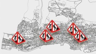 Ils sont partout et énervent: pourquoi tant de chantiers à Neuchâtel?