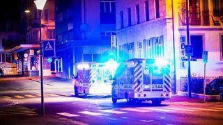 Incendie au Locle, une personne retrouvée inconsciente