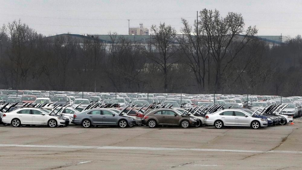Depuis plus d'un an, le groupe VW a entreposé en 37 endroits des Etats-Unis plus de 300 000 véhicules  rachetés à leurs propriétaires, en attendant de pouvoir les remettre sur le marché.