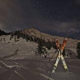 Ski au clair de lune