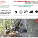 Excursion archéologique autour du Lac de Neuchâtel