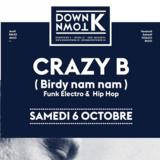 Crazy B (Birdy Nam Nam) au DownTown K