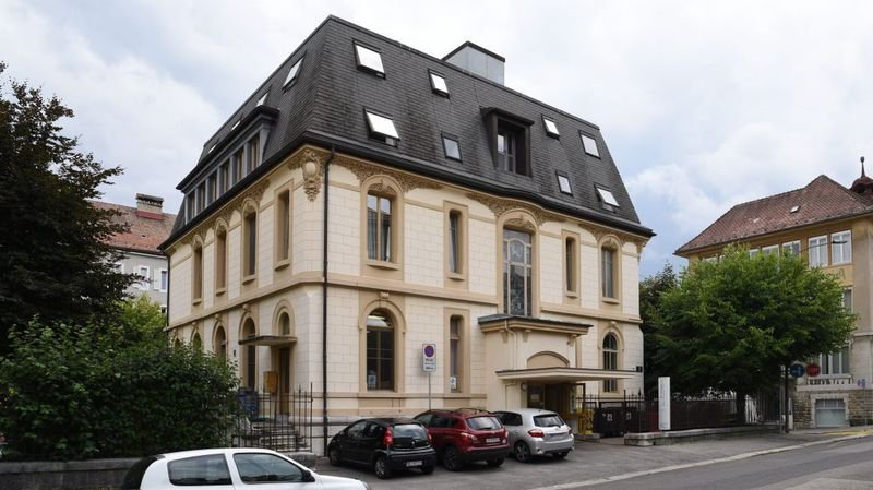 Le bâtiment de La Chrysalide, à La Chaux-de-Fonds.