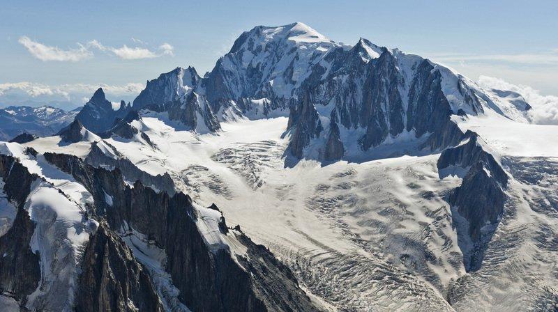 Accident: trois alpinistes se tuent dans le massif du Mont-Blanc