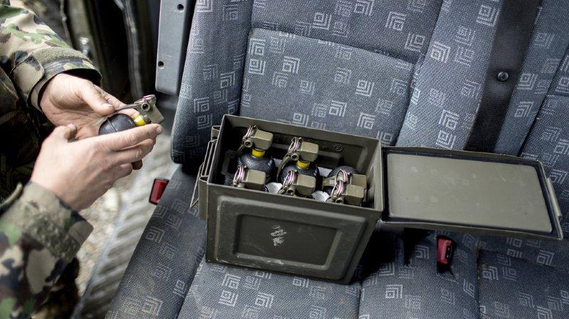 Armes: des grenades à main de l'entreprise d'armement RUAG seraient réapparues en Syrie