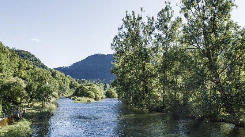 Sécheresse: interdiction de naviguer sur les eaux du Doubs