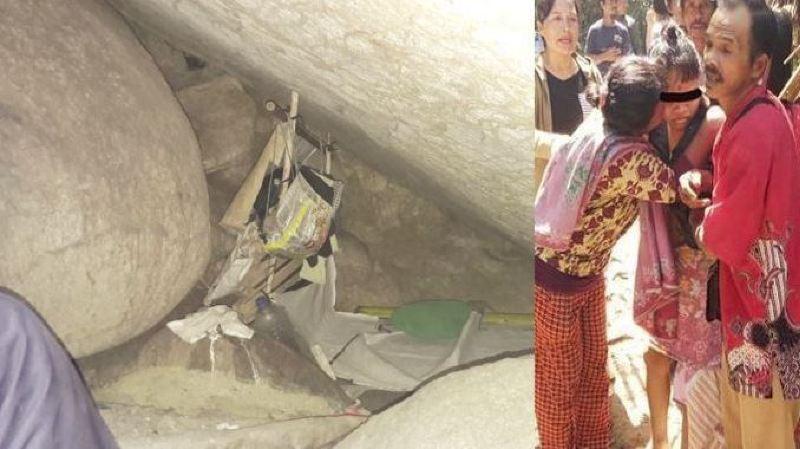 Indonésie: une esclave sexuelle enfermée 15 ans dans une grotte