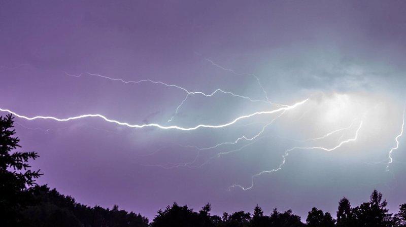 Cet été plus de 2'000 éclairs par jour se sont produits.