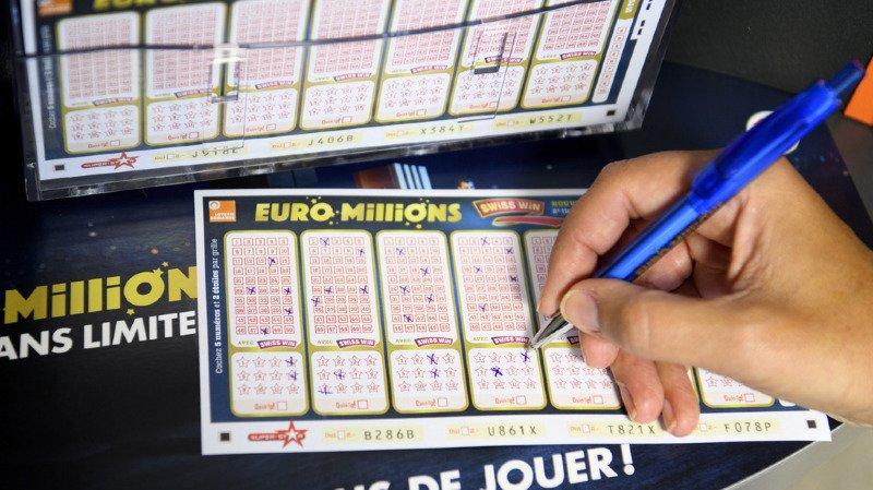 Euro Millions: un joueur remporte 123 millions de francs