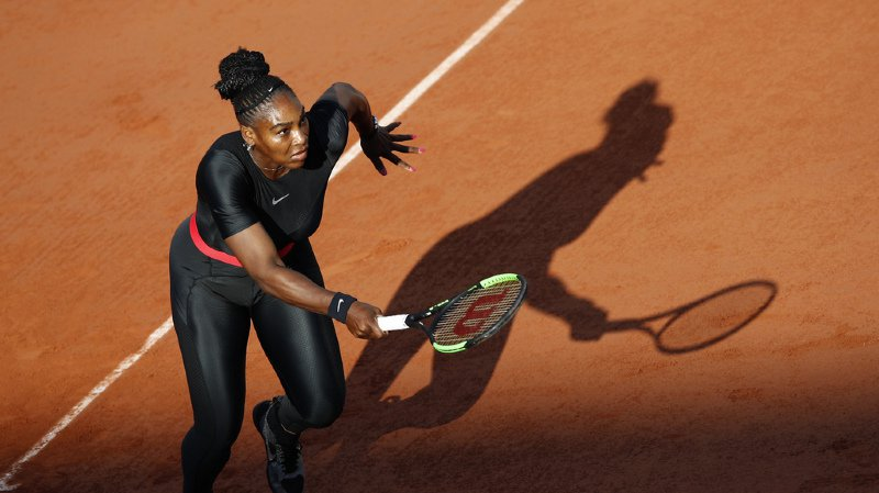 """La """"Black Panther"""" n'est plus la bienvenue sur les courts parisiens."""