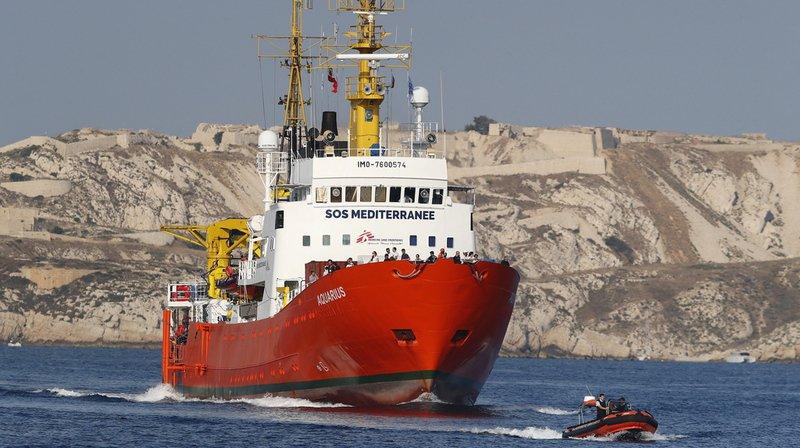 Crise migratoire: l'Aquarius ne veut pas reconduire les migrants en Libye