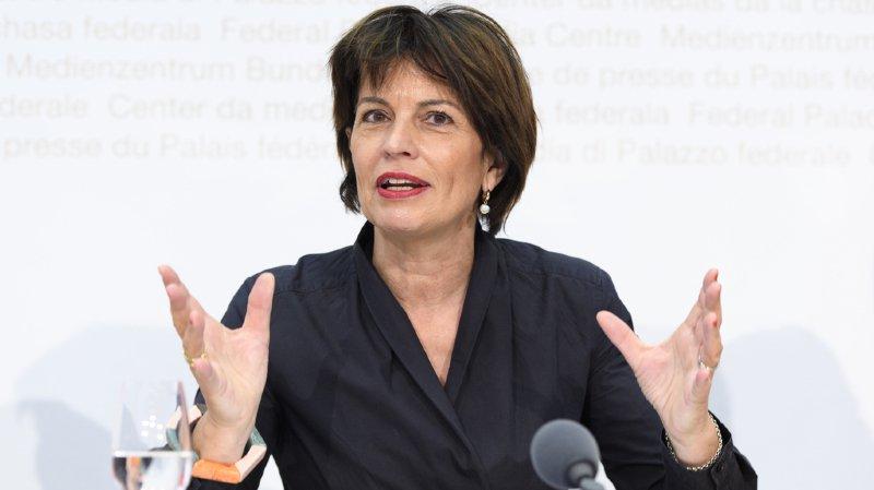 Selon Doris Leuthard, il est important que les entreprises suisses et chinoises luttent à armes égales.