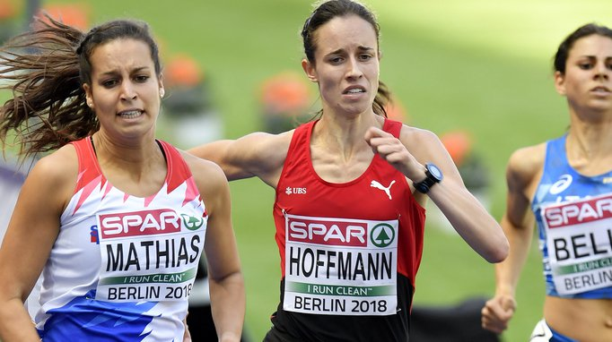 Européens de Berlin - 800m: la Valaisanne Lore Hoffmann crée la surprise, Selina Büchel assure