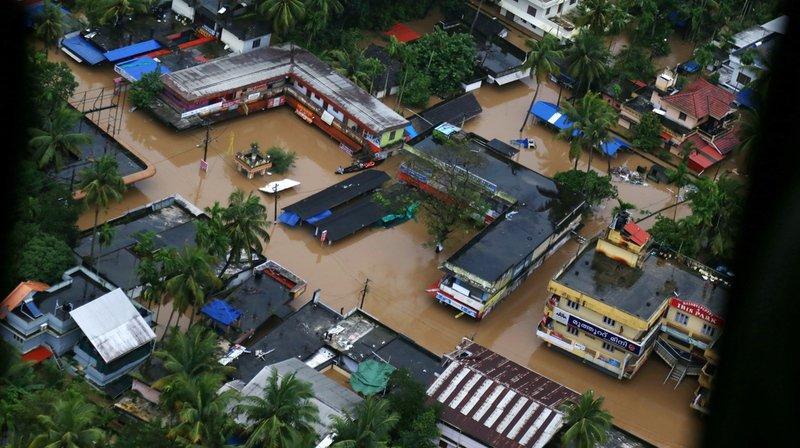 Inde - Inondations: plus d'un million de déplacés dans les centres au Kerala