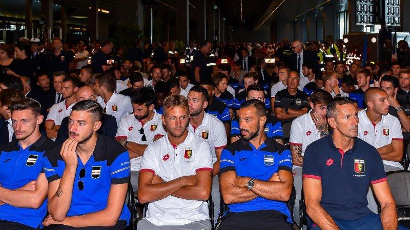 Effondrement du viaduc à Gênes: les supporters du Genoa annoncent 43minutes de silence