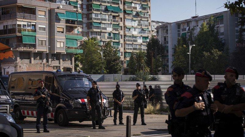 Tentative d'attentat en Espagne: un Algérien tué après avoir attaqué un commissariat
