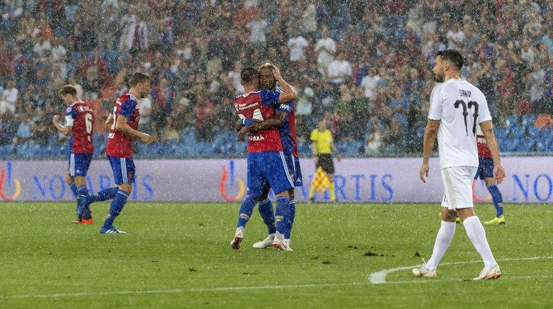 Football: Bâle s'impose sur le fil face au Apollon Limassol en barrage aller de l'Europa League