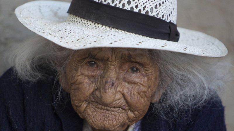 À 117 ans, Julia Flores Colque se porte bien.