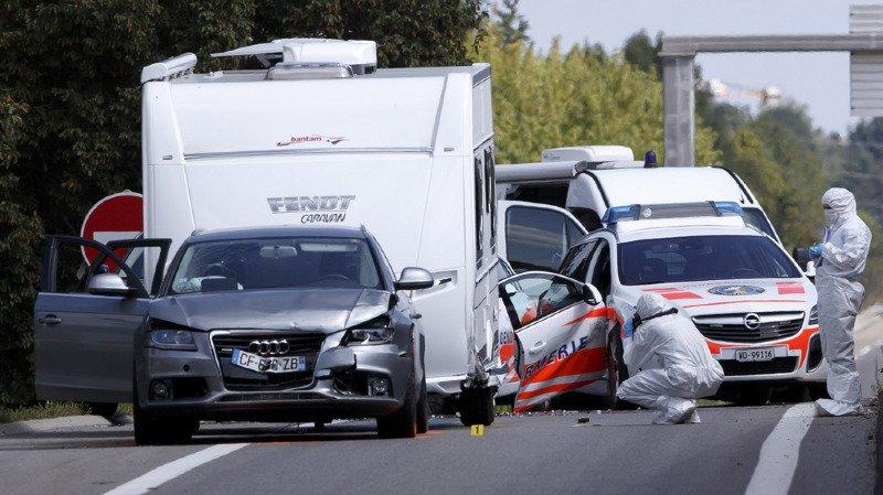 Course-poursuite avec une caravane: la gendarme vaudoise percutée à Thoiry (F) déjà opérée plusieurs fois