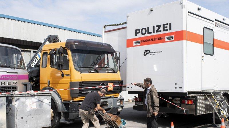Zurich: meurtre d'un Roumain de 30 ans à Samstagern, 8 personnes arrêtées
