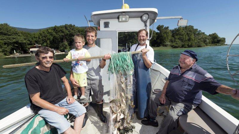 Lac de Neuchâtel: la bondelle racontée le pêcheur par Philippe Oberson