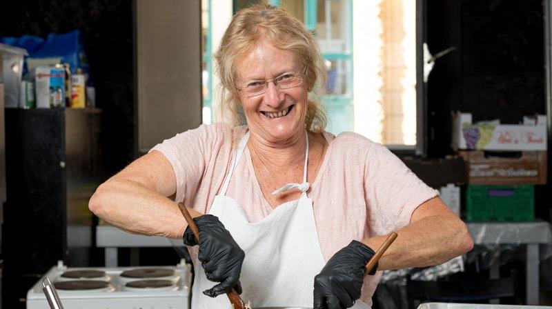 Janine, depuis plus de 15 ans aux fourneaux du Buskers