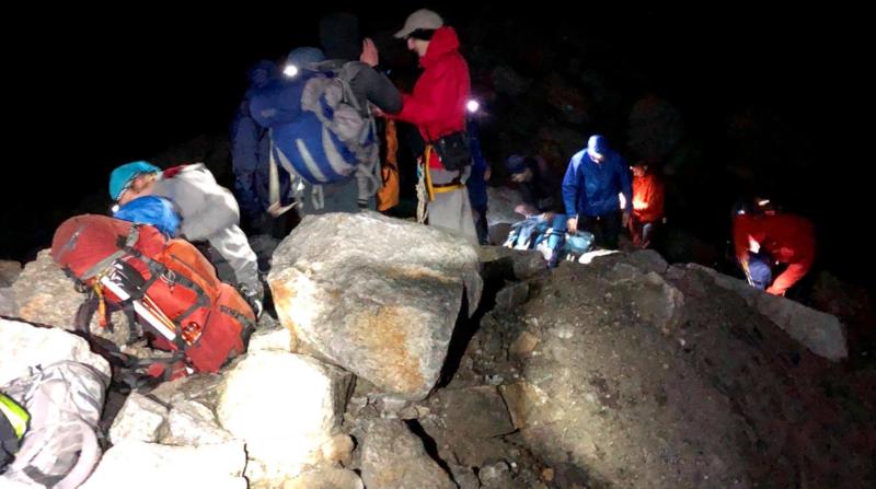 Zermatt: un groupe de 22 personnes secouru sur un glacier après avoir traversé trois orages