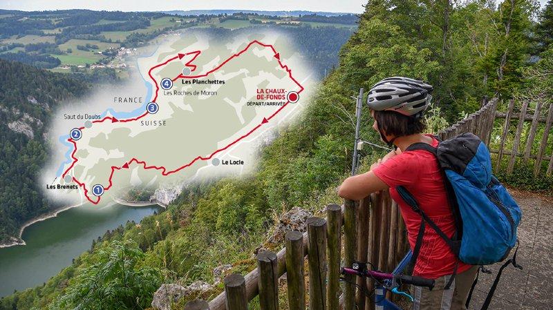 A la découverte du Doubs à vélo par les sentiers forestiers