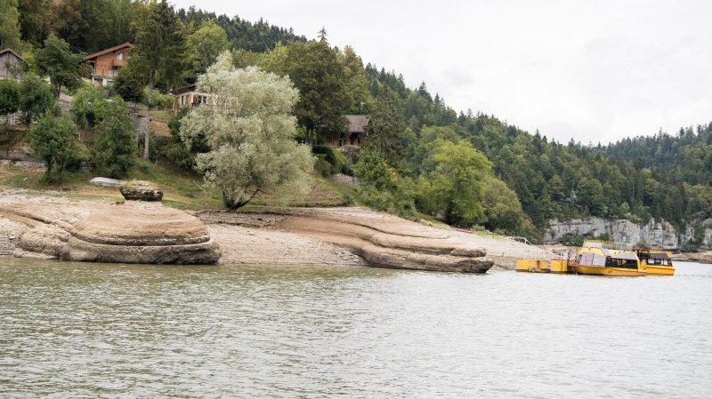 Les falaises des bassins du Doubs offrent un spectacle insolite