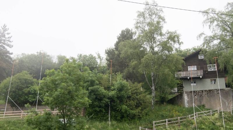 Les gabarits du projet d'écoquartier à Montezillon qui est, pour l'heure, retiré par l'Aubier